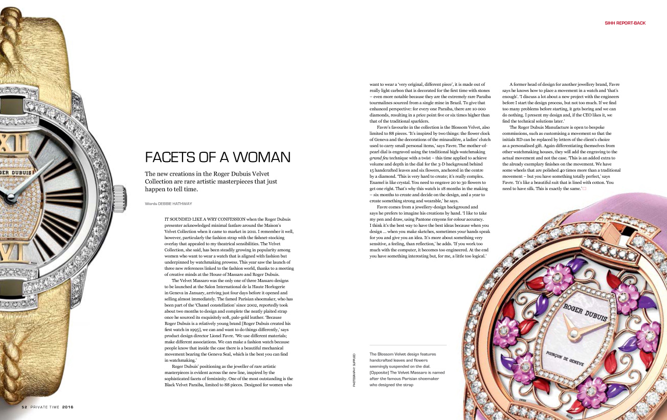 FACETS OF A WOMAN
