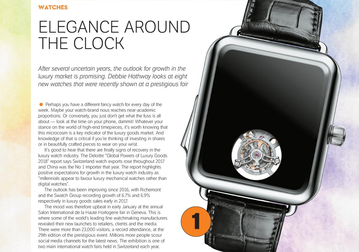 Elegance around the clock